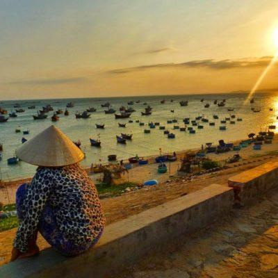 Mui Ne en Vietnam. Pueblo de pescadores entre dunas, playas y el espectacular Manantial de las Hadas.