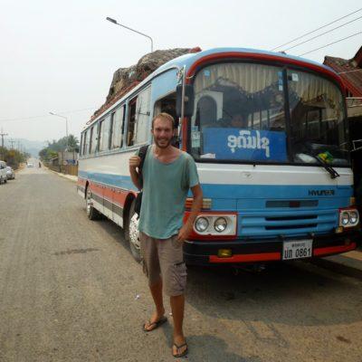 Cómo cruzar la interminable frontera norte Laos – Vietnam. Desde Luang Prabang a Sapa.