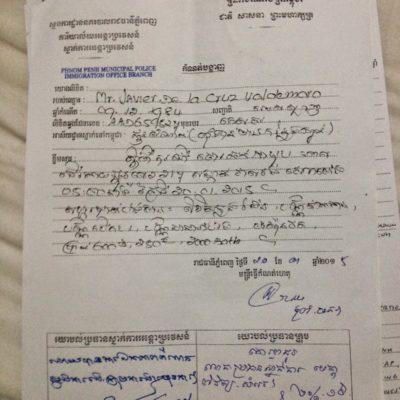 6 pasos a seguir para saber qué hacer y dónde ir en caso de pérdida o robo del pasaporte en Camboya.