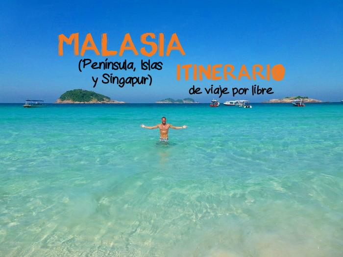 mi aventura viajando itinerario malasia peninsula portada