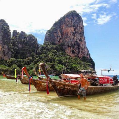 Ao Nang y Railay: El paraíso de los escaladores