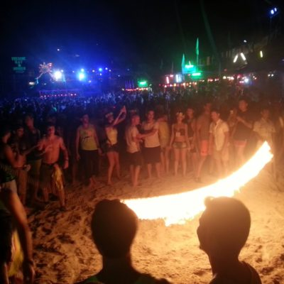 Full Moon Party en Koh Phangan: Entre jungla y playas alucinantes