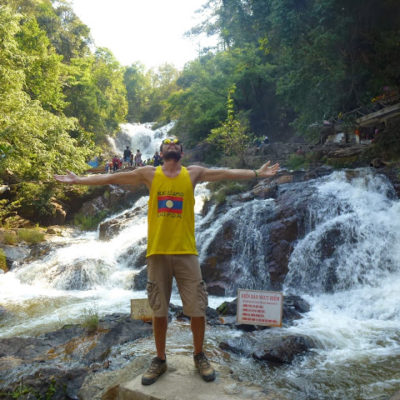 Dalat en Vietnam. Aire fresco escondido entre cascadas, valles y montañas