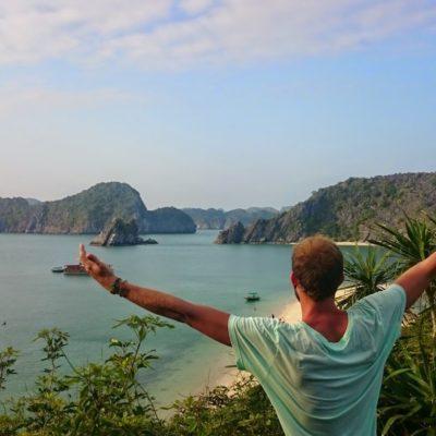 Navegar por Halong Bay barato y la isla de Cat Ba en Vietnam. ¡Absolutamente mágico!