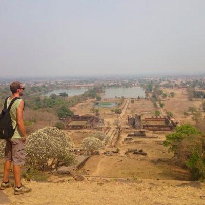 En moto por Laos (parte 2): Pakse y los templos Wat Phou en Champasak