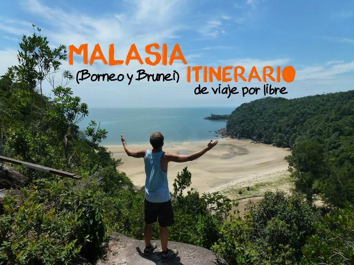 mi aventura viajando itinerario malasia borneo portada 2