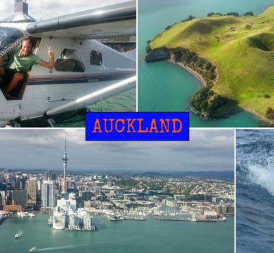 Auckland desde el aire, mar y tierra. ¡Toda una experiencia! – Nueva Zelanda