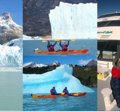 Glaciar Perito Moreno: En kayak y en un crucero entre icebergs navegando por el PN Los Glaciares