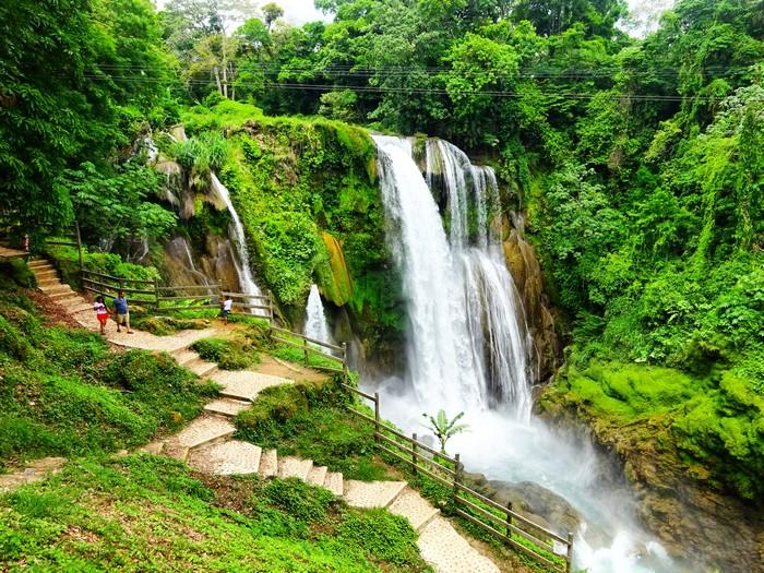 El Lago de Yojoa y las espectaculares Cataratas Pulhapanzak en Honduras -  Mi Aventura Viajando