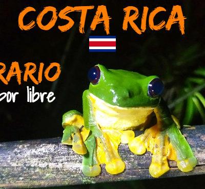 Costa Rica: Itinerario y ruta de viaje por libre