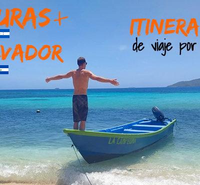Honduras + El Salvador: Itinerario y ruta de viaje por libre
